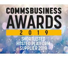 Comms Business Awards Hosted Platform Supplier