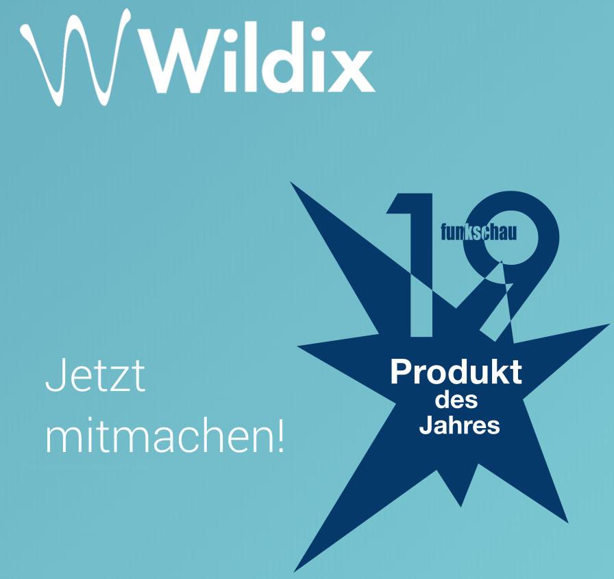 Bei der funkschau Leserwahl mitmachen und für Wildix stimmen