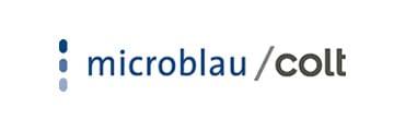 Microblau logo