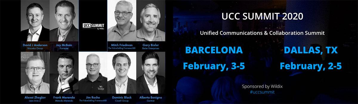 UCC Summit 2020 – Wildix News