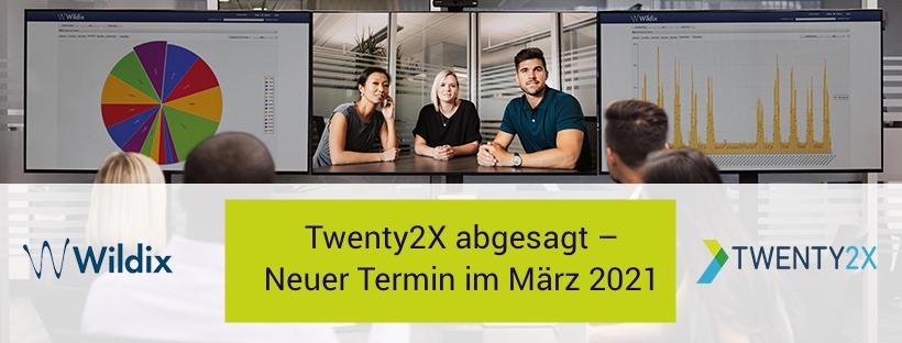 Absage der Twenty2X