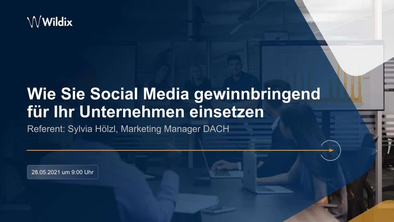 Wildix DACH Marketing Webinar – Social Media